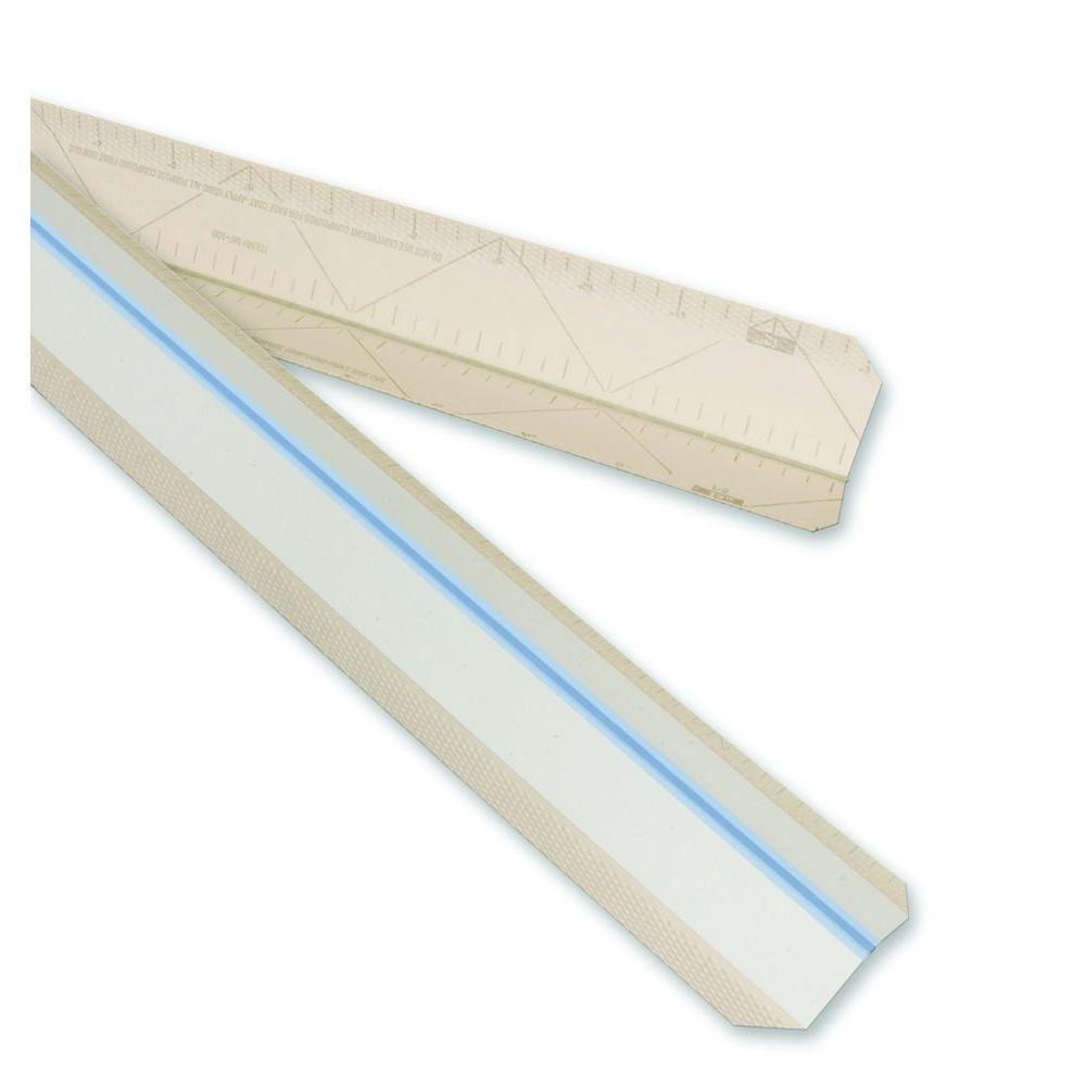 Strait-Flex 3 inch x 8 ft. Paper-Faced Composite Drywall Corner Bead by Strait-Flex