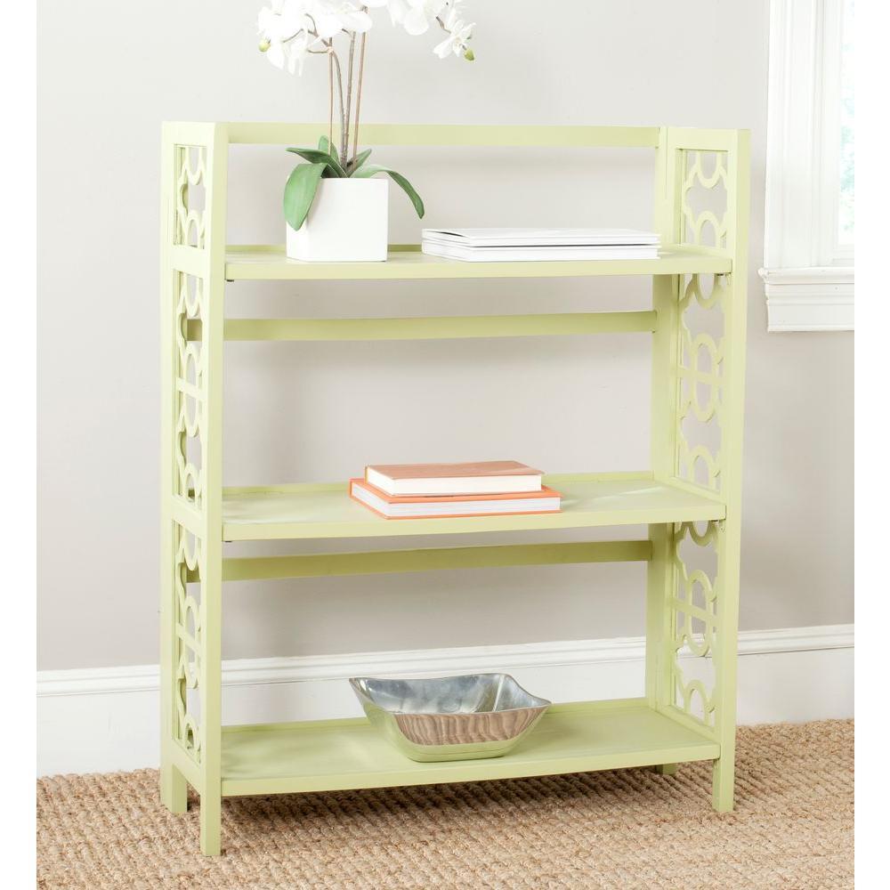 Safavieh Natalie Avocado Green Open Bookcase