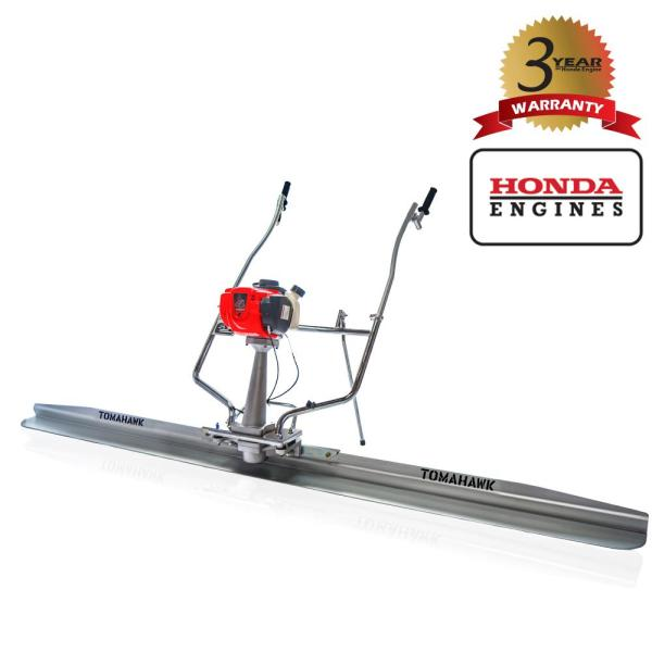 8 ft. Blade and 1.6 HP Honda Gas Vibratory Concrete Power Screed