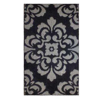 Portico Flat Gray 2 ft. x 4 ft. Area Rug
