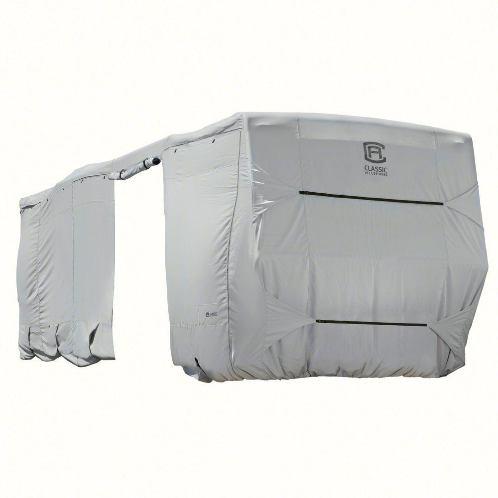 Classic PermaPro 27 to 30 ft. Travel Trailer Cover, Grey