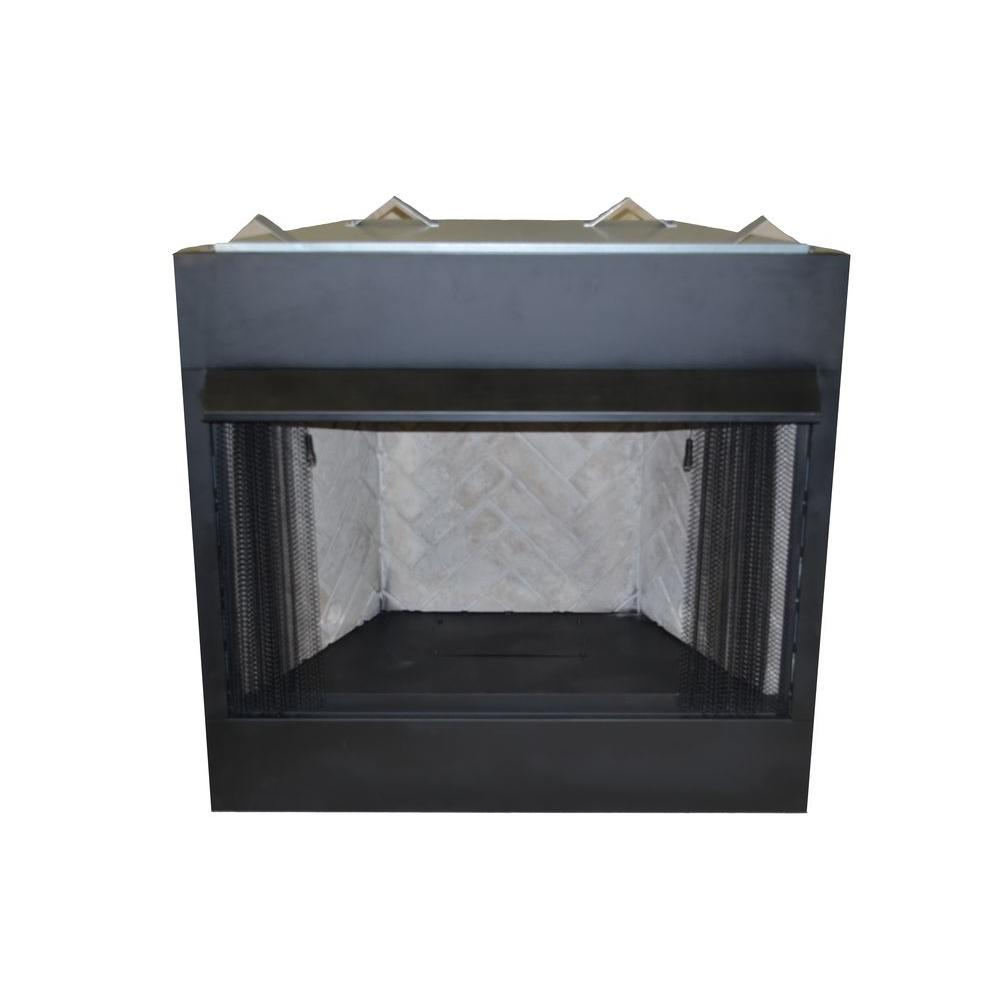 Set the temperatures for your residence with this Emberglow Vent-Free Natural Gas or Liquid Propane Circulating Firebox Insert.