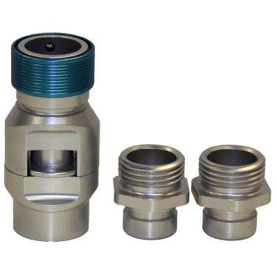 FLO 3/4 in. Pro-Series Quick-Connect Shut-Off Valve and 2 Male Adaptors