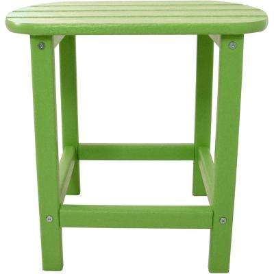 Lime All-Weather Patio Side Table