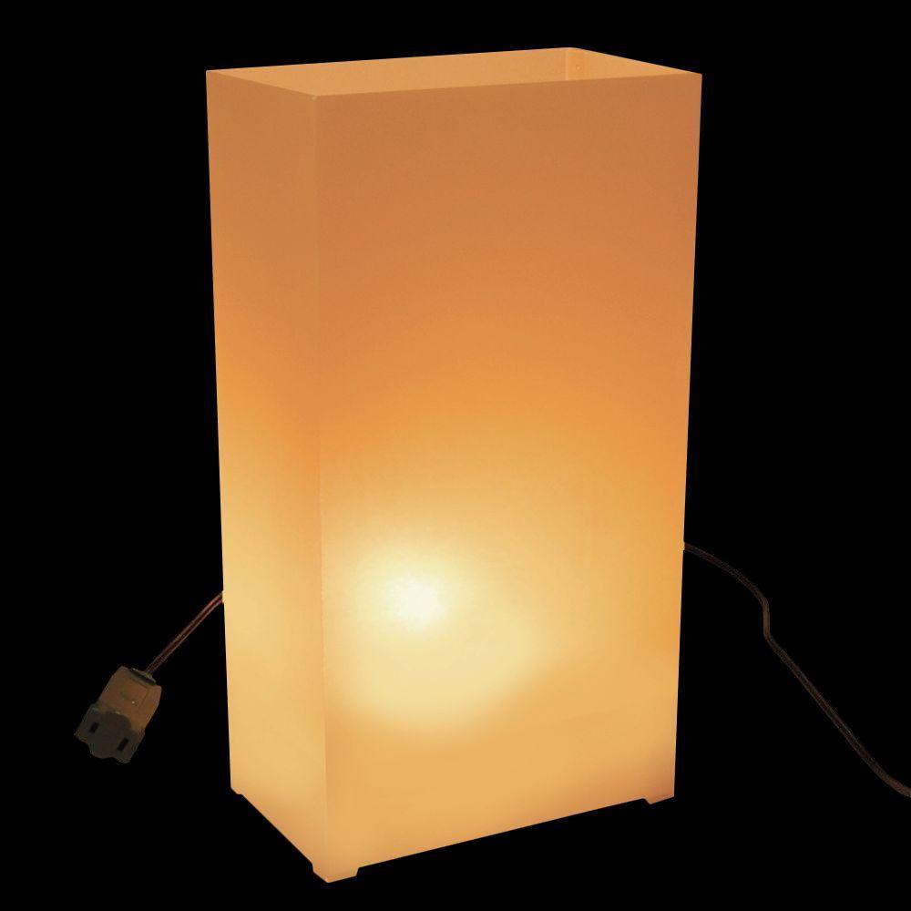 Lumabase Tan/Kraft Electric Luminaria Kit (Set of 10)