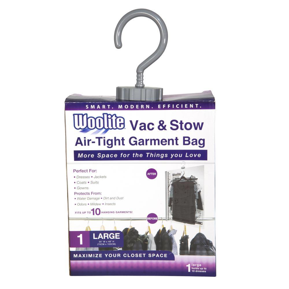 Woolite 1PC HANGING VACUUM STORAGE BAG 41  X ...  sc 1 st  Home Depot & Woolite 1PC HANGING VACUUM STORAGE BAG 41