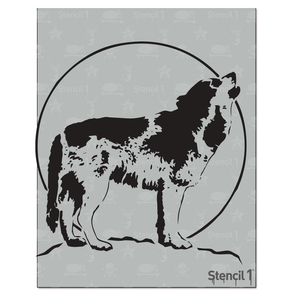 Stencil1 Wolf Stencil S1 01 84 The Home Depot