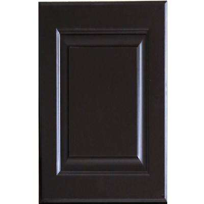 11x15x0.75 in. La. Newport Door Sample in Dark Espresso
