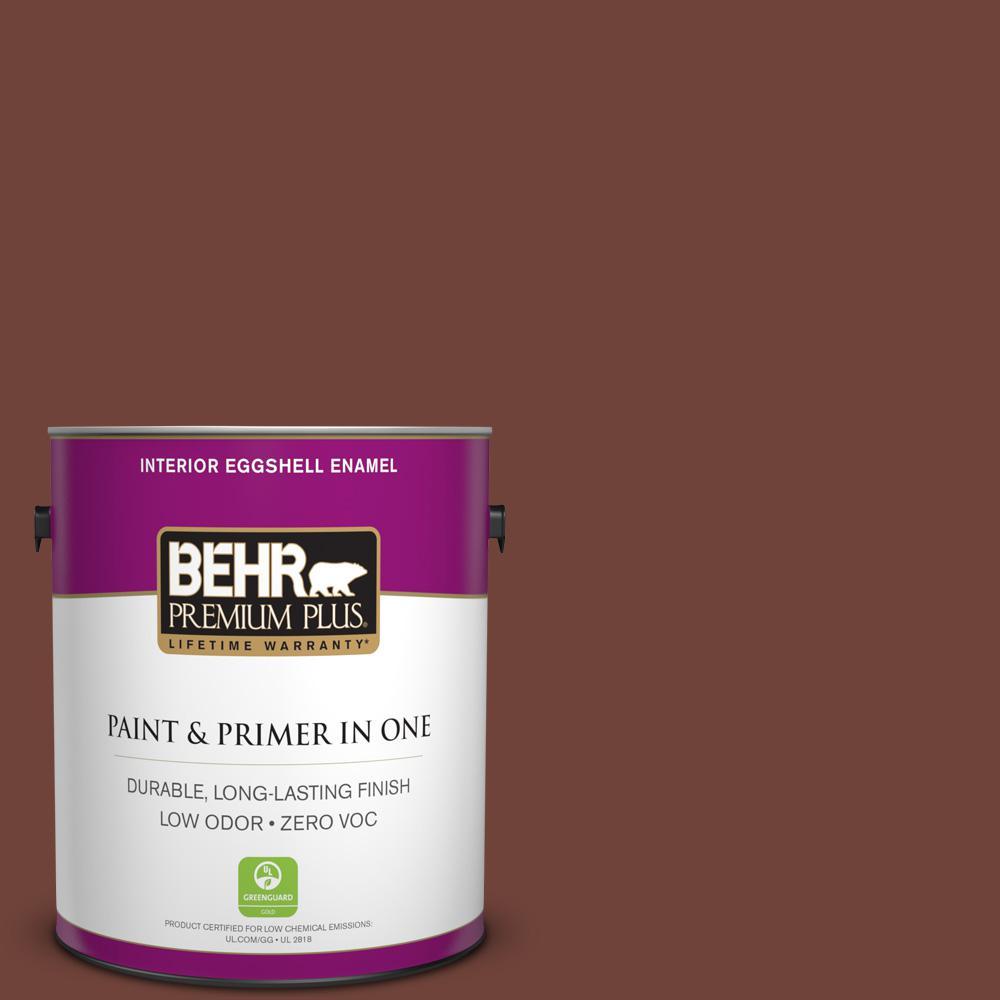 1-gal. #N160-7 Brown Velvet Eggshell Enamel Interior Paint