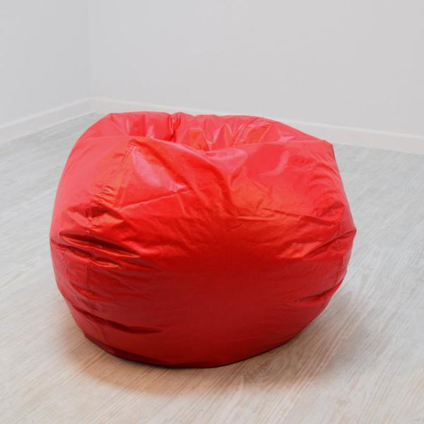 Miraculous Red Vinyl Bean Bag Onthecornerstone Fun Painted Chair Ideas Images Onthecornerstoneorg