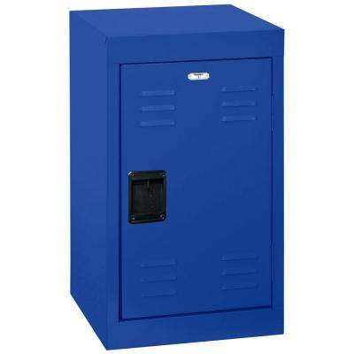 24 in. H x 15 in. W x 15 in. D 1-Tier Steel Locker in Ocean