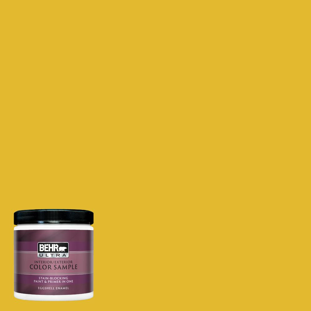 Behr Ultra 8 Oz P310 7 Solarium Eggshell Enamel Interior Paint And Primer In One Sample Ul21316 The Home Depot