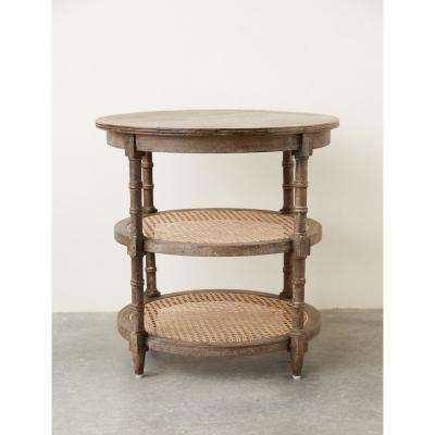 3 Shelf Accent Table