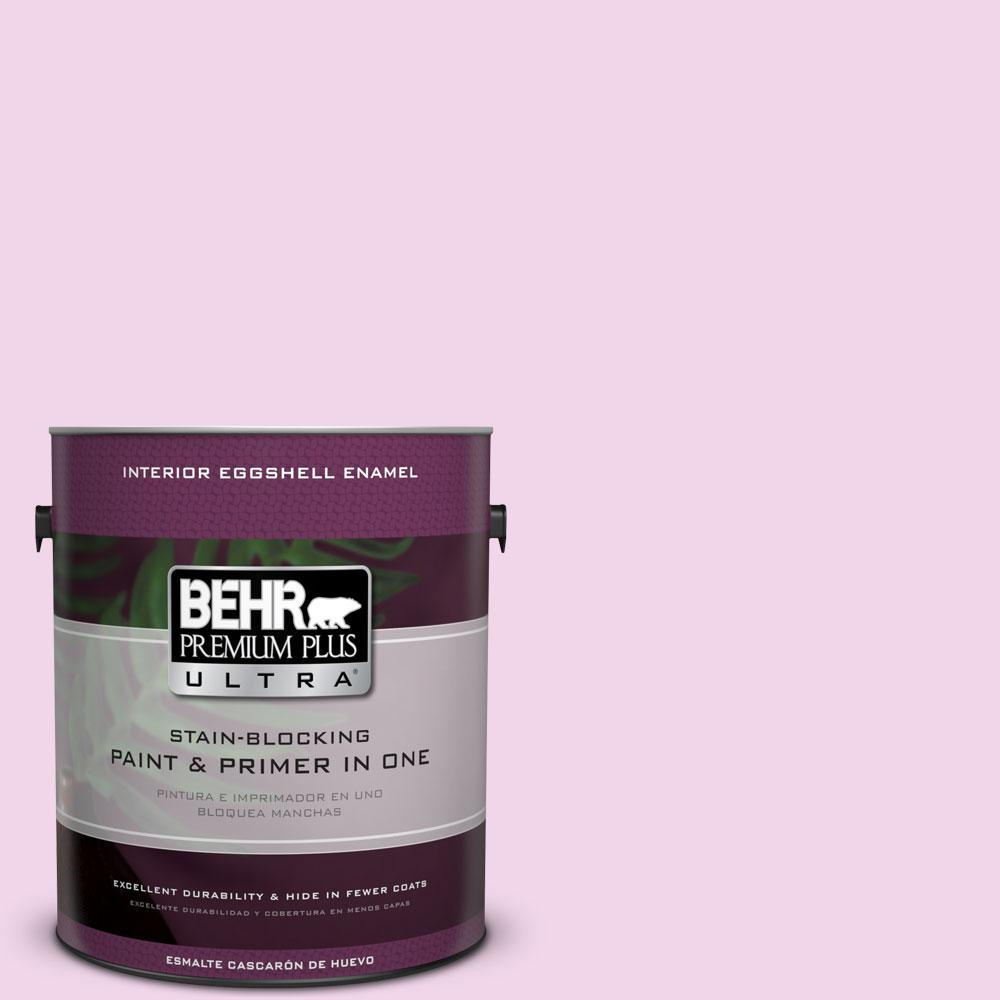 BEHR Premium Plus Ultra 1-gal. #680A-1 Candy Tuft Eggshell Enamel Interior Paint