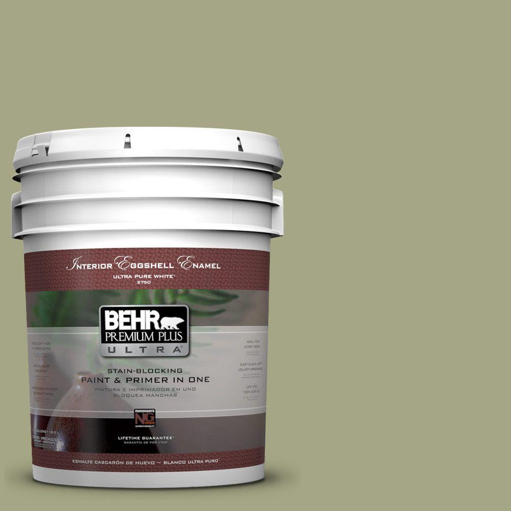 BEHR Premium Plus Ultra 5-gal. #S370-4 Rejuvenation Eggshell Enamel Interior Paint