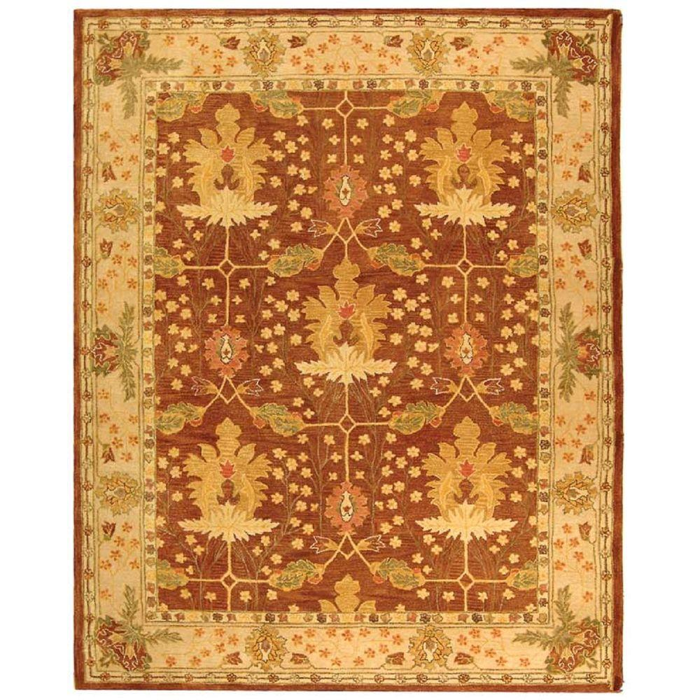 Safavieh Anatolia Brown 9 Ft X 12 Ft Area Rug An540b 9