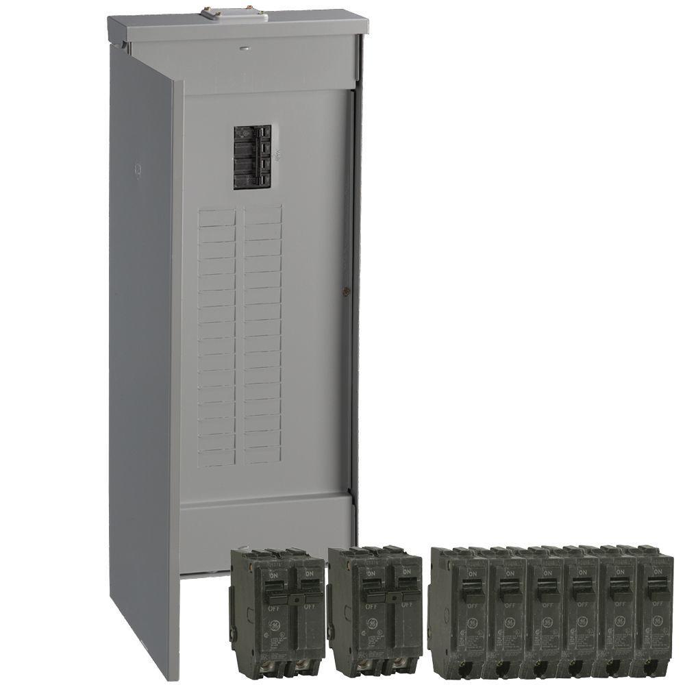 GE PowerMark Gold 150 Amp 32-Space 32-Circuit Outdoor Main Breaker Value Kit