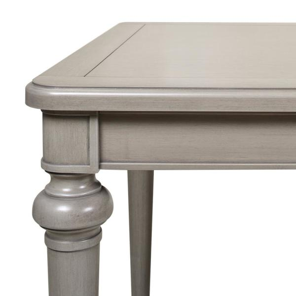 Jennifer Taylor Dauphin 71 In Cashmere Gray Birchwood Rectangular 6 Seater Dining Table Cz87111 The Home Depot
