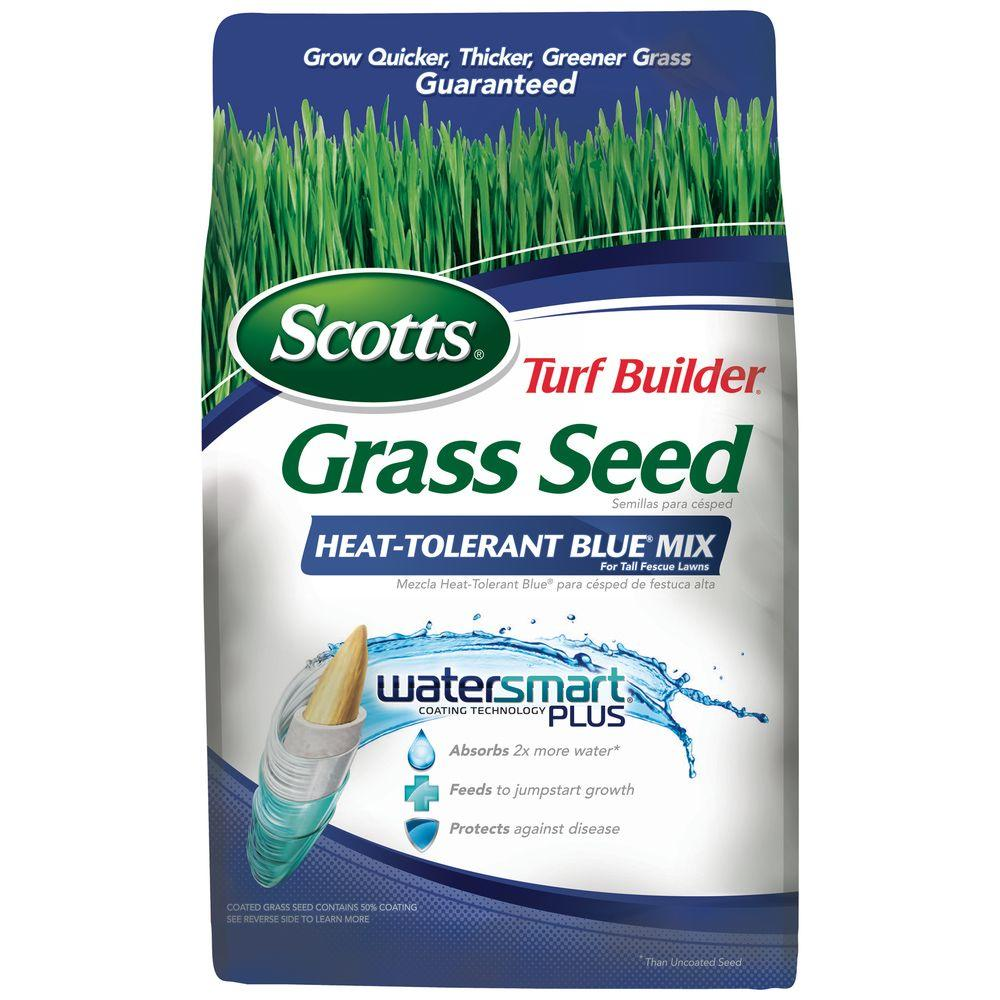Scotts 3 lb. Turf Builder Heat-Tolerant Blue Mix Grass Seed