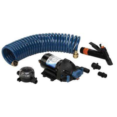 Washdown Pump with 25 ft. Hose 12-Volt