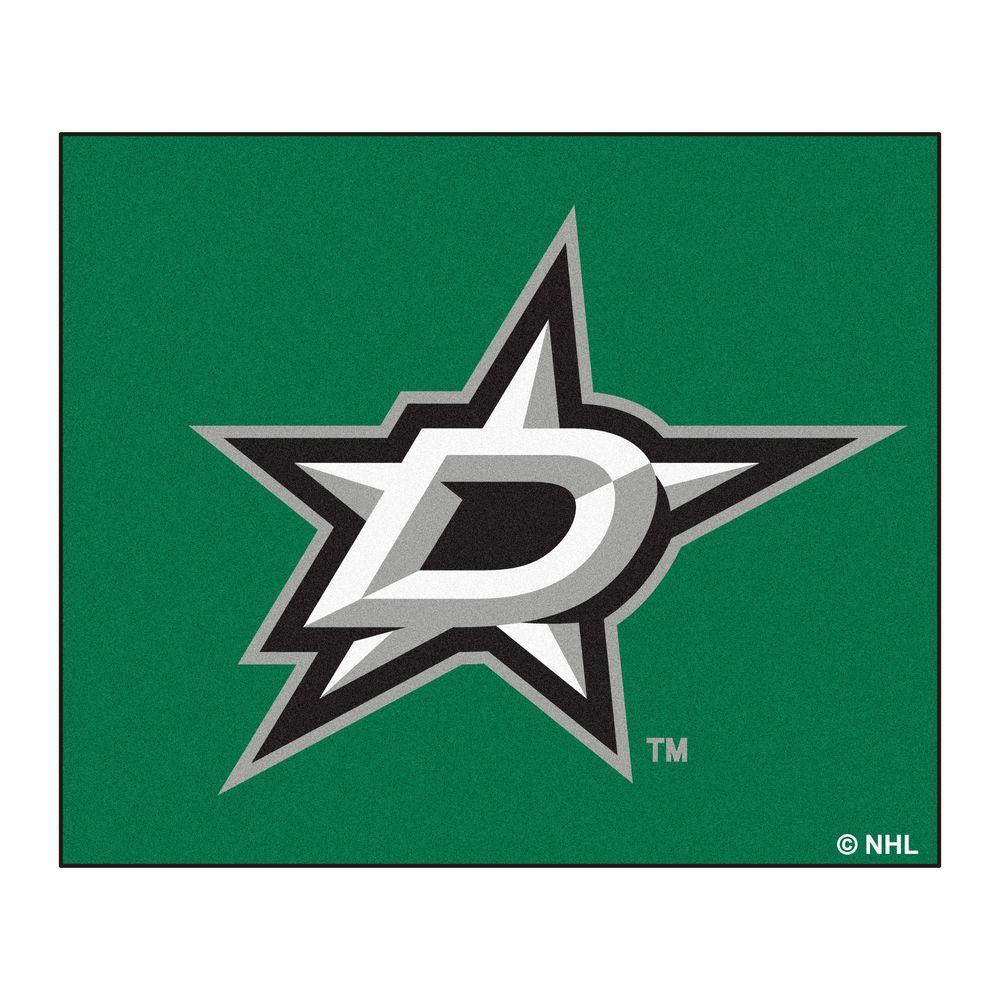 FANMATS Dallas Stars 5 ft. x 6 ft. Tailgater Rug