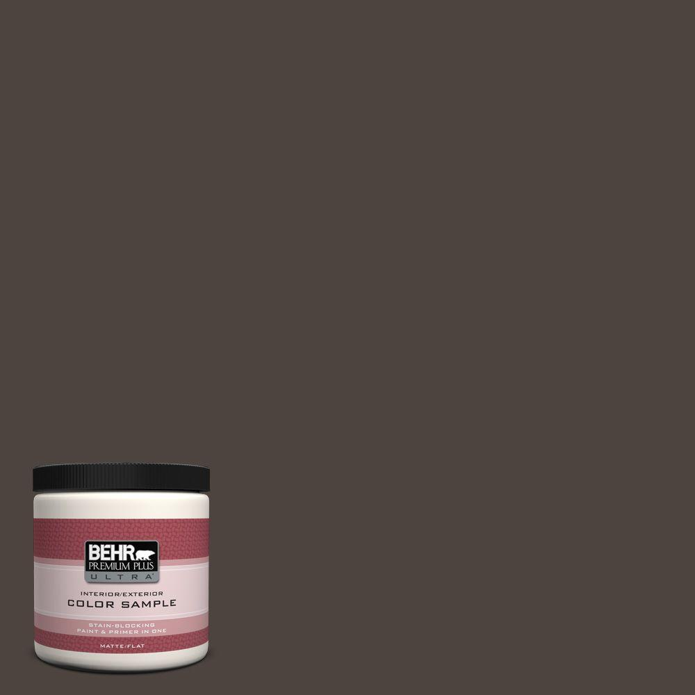 Ppu5 01 Espresso Beans Matte Interior Exterior Paint And Primer In One Sample