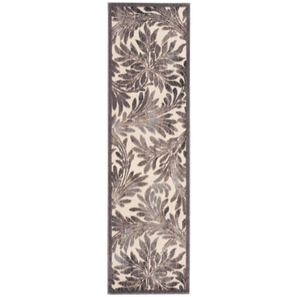 Graphic Illusions Ivory 2 ft. 3 in. x 8 ft. Rug