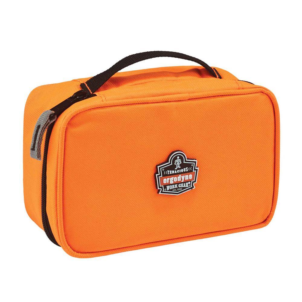 Arsenal 2-Compartment Small Parts Organizer, Orange