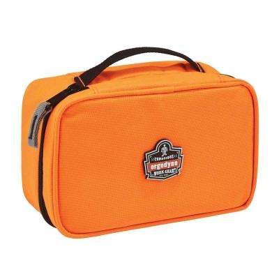 Arsenal 2-Compartment Small Parts Organizer, Orange