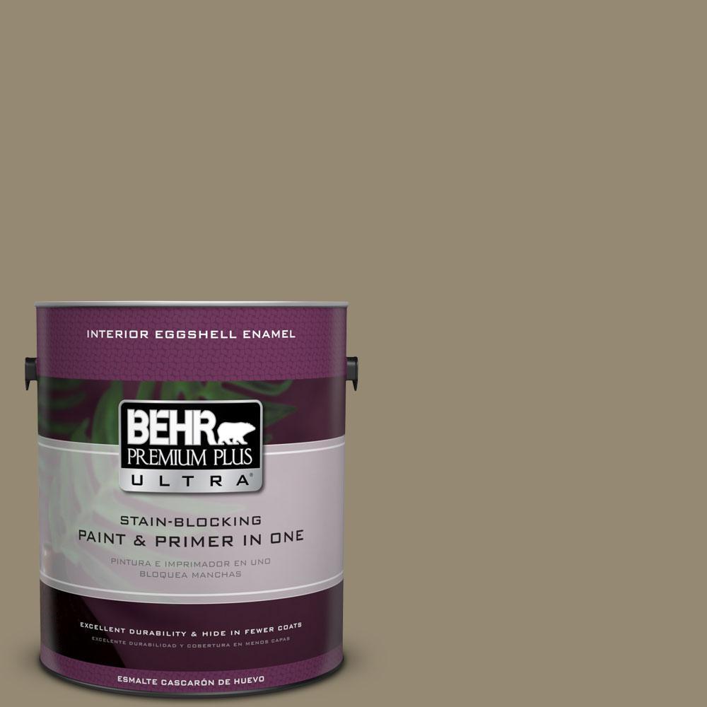 BEHR Premium Plus Ultra 1-Gal. #PPU8-3 Dry Pasture Eggshell Enamel Interior Paint