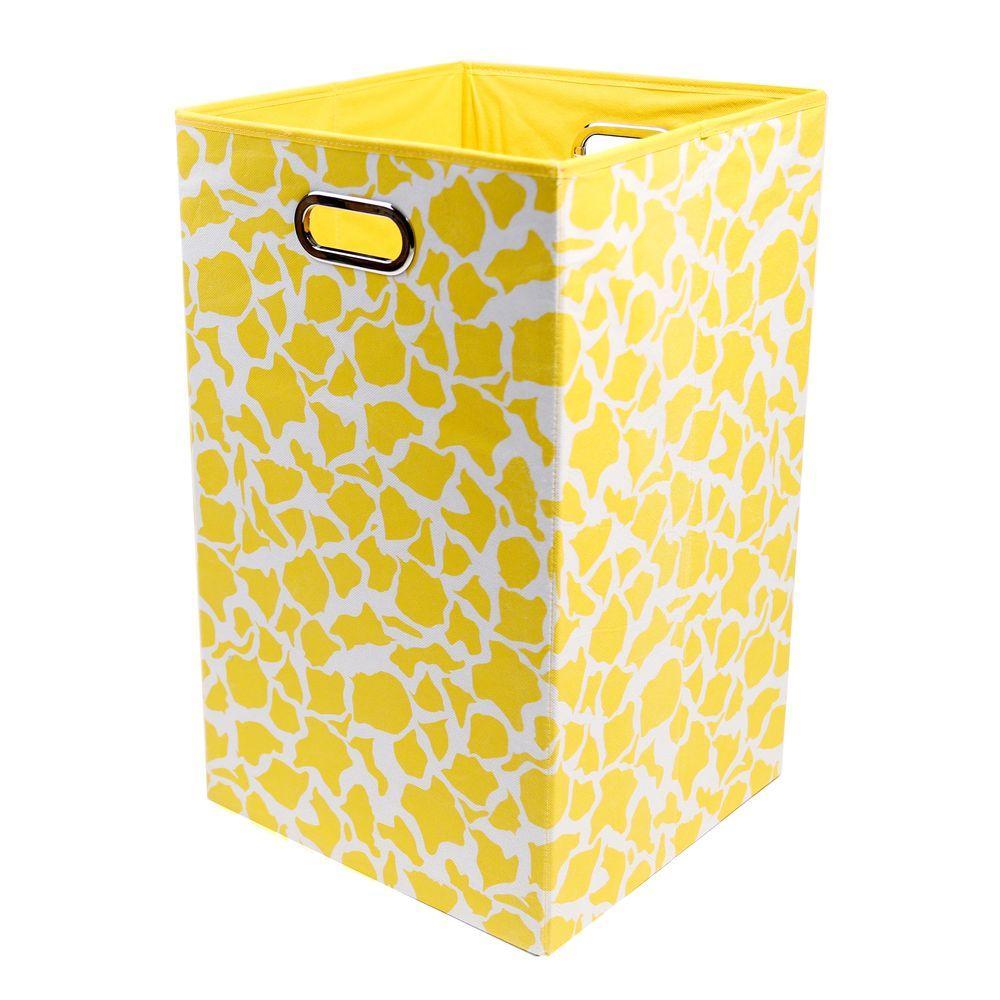 Rusty Giraffe Folding Laundry Basket