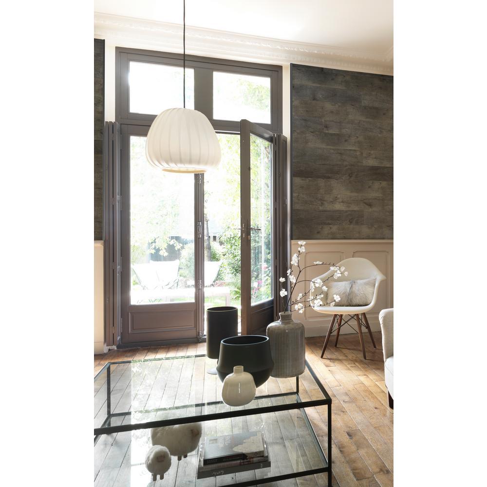 grosfillex element 36 sq ft grey resin paneling bundle pack usc85441 the home depot. Black Bedroom Furniture Sets. Home Design Ideas