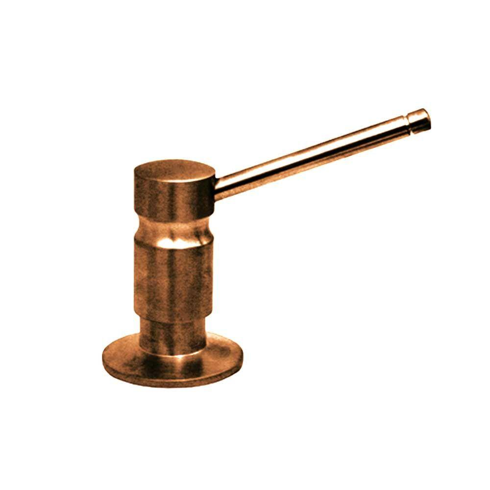 Whitehaus Collection Soap/Lotion Dispenser in Antique Copper