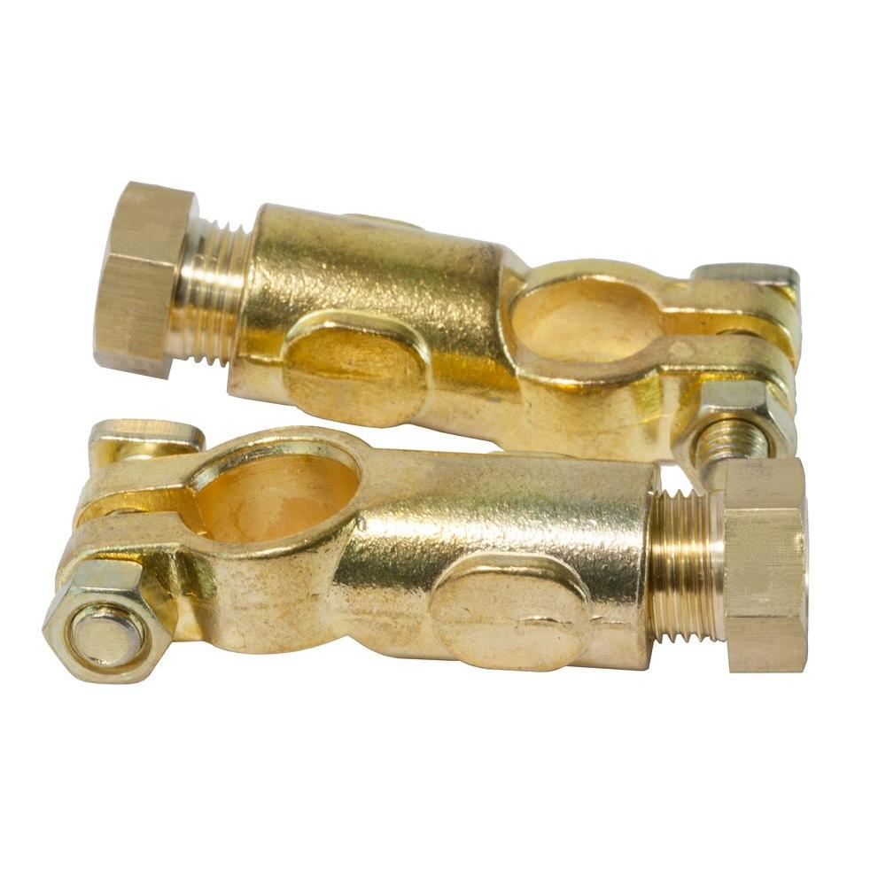 wen top post battery terminals 2 pack 41201 the home depot