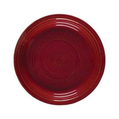 Aspen Red Dinner Plate (Set of 4)