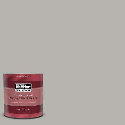 1 qt. #PPU25-08 Heirloom Silver Matte Interior Paint and Primer in One