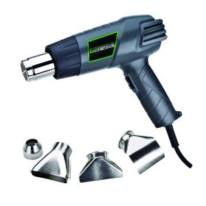 Click here to buy Genesis 12.5-Amp Dual Temperature Heat Gun Kit by Genesis.