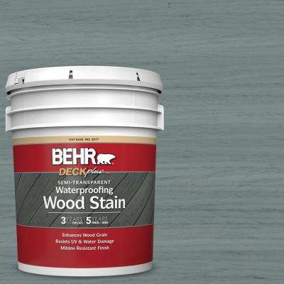 5 gal. #ST-125 Stonehedge Semi-Transparent Waterproofing Exterior Wood Stain