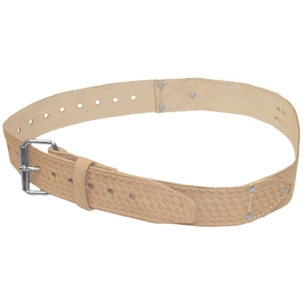 McGuire-Nicholas 2 in. Tan Leather Belt