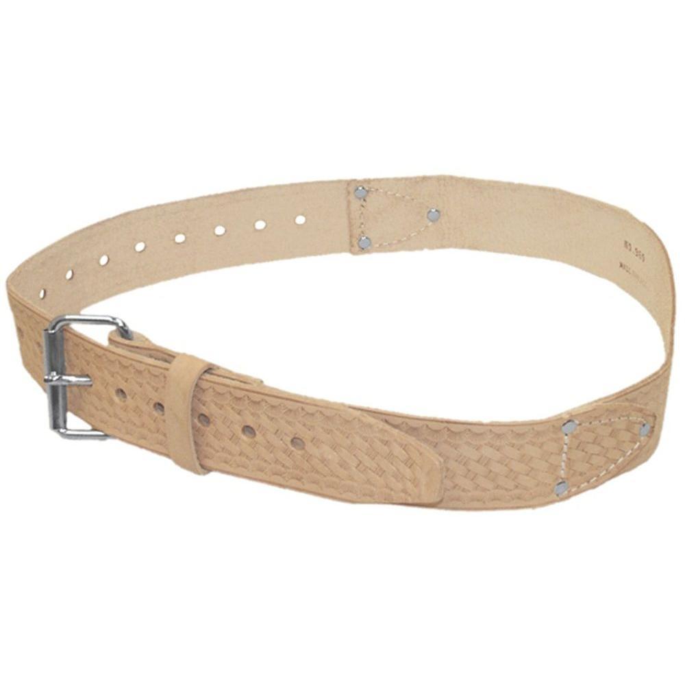 2 in. Tan Leather Belt