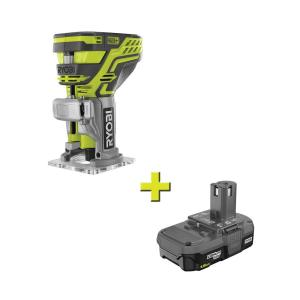 RYOBI 18V ONE+ Cordless Fixed Base Trim Route w/Li-Ion Battery