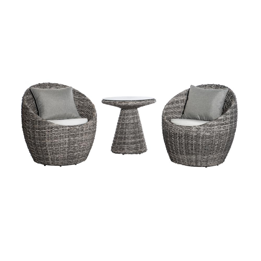 SunJoy Salima 3-Piece Aluminum Patio Bistro Set