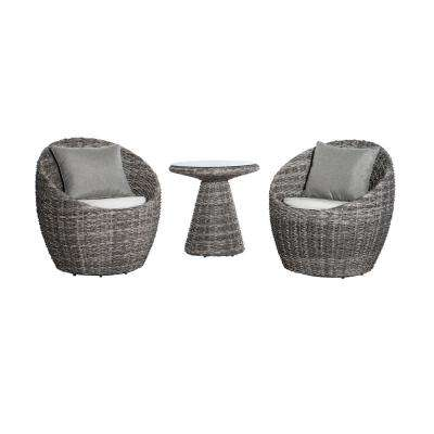 Salima 3-Piece Aluminum Patio Bistro Set