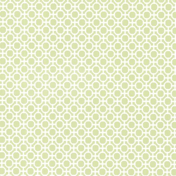 Brewster 8 in. x 10 in. Beatrix Celery Modern Geometric Wallpaper