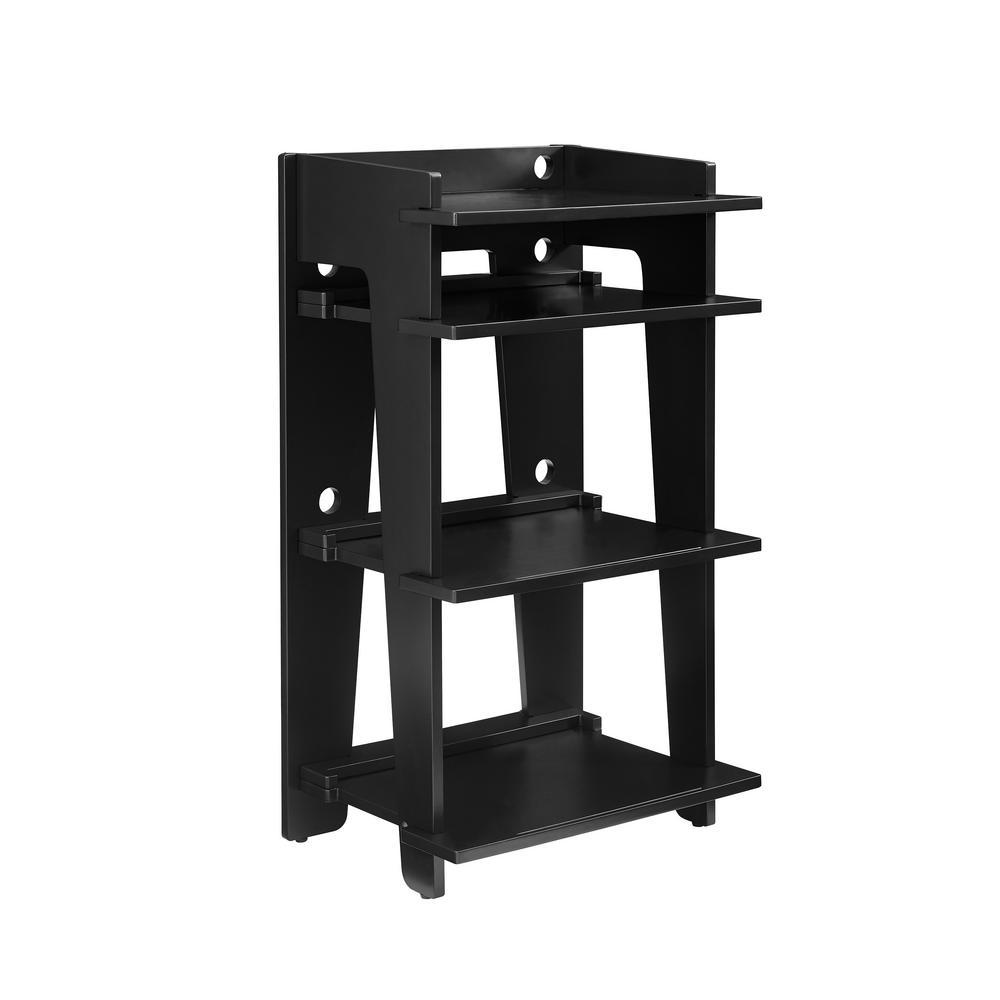 Soho Black Turntable Stand