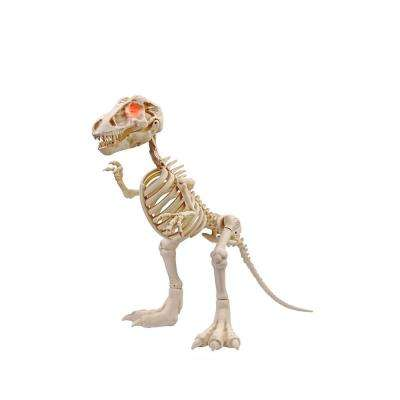 34 in animated t rex with led eyes