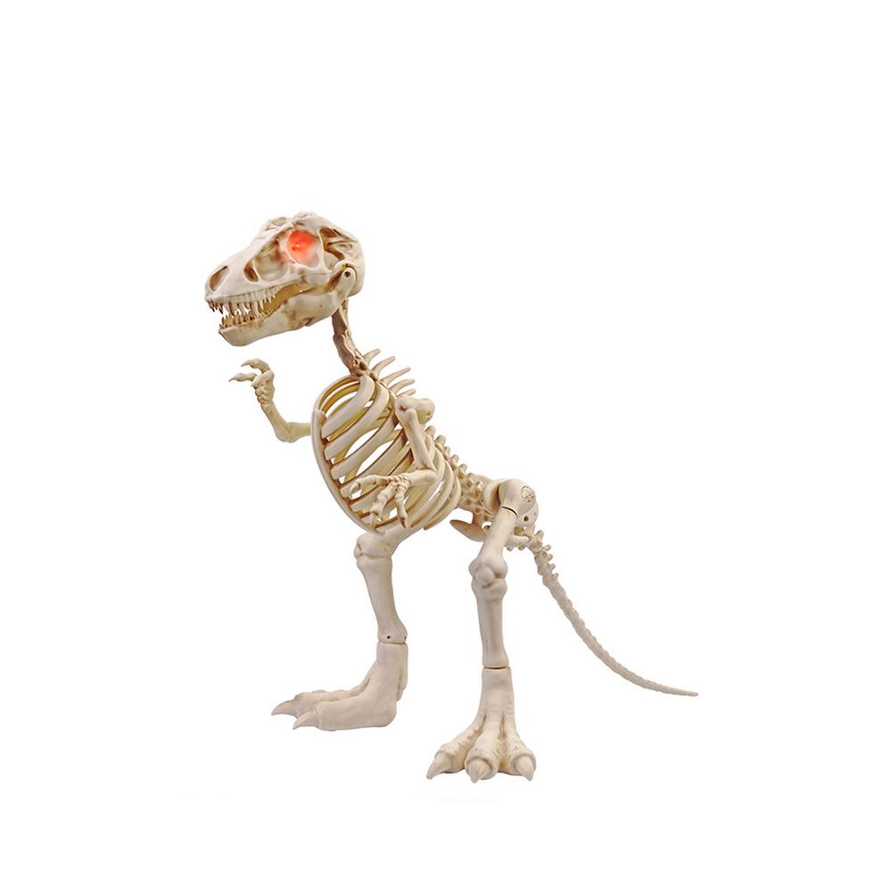 Home Accents Holiday 34 in  Animated T-Rex Skeleton with LED Eyes