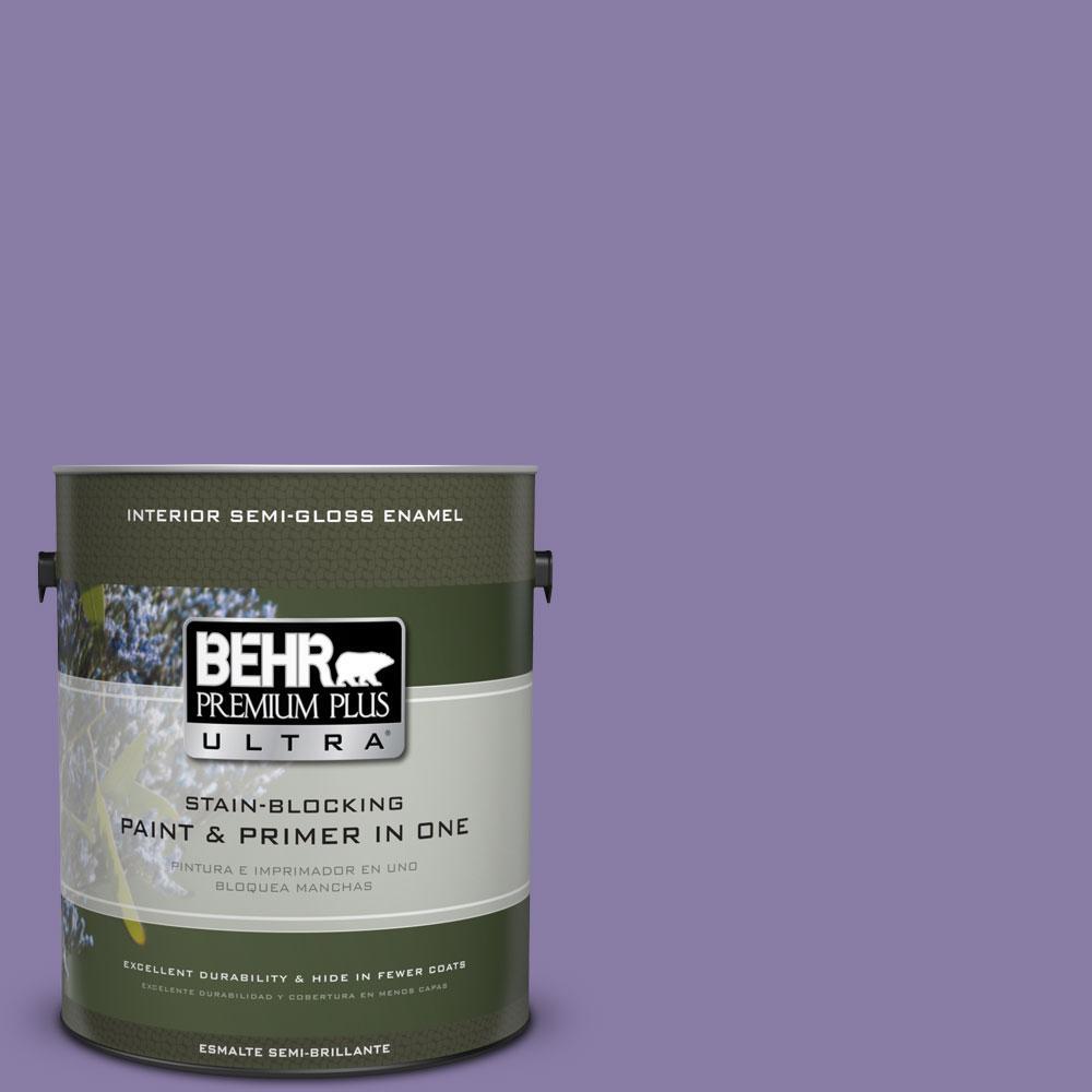 BEHR Premium Plus Ultra 1-gal. #M560-5 Second Pour Semi-Gloss Enamel Interior Paint