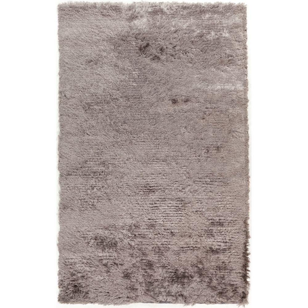 Candice Olson Traditional Living Rooms: Surya Tranquil Medium Gray 8 Ft. X 10 Ft. Area Rug-TQL1004