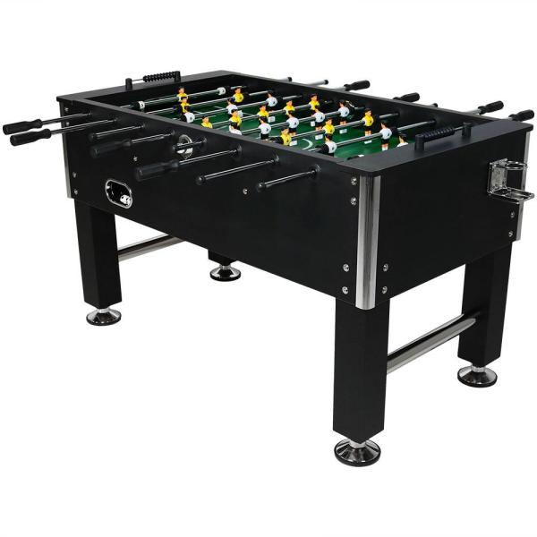 55 in. Foosball Game Table with Drink Holders